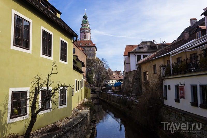 В городе Чески-КрумловЖ, Чехия / Фото из Чехии
