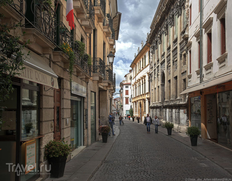 Один день в итальянской Виченце / Фото из Италии