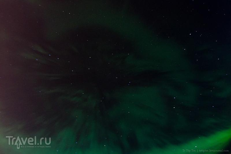 Лисьи костры в небе над Архангельском / Россия
