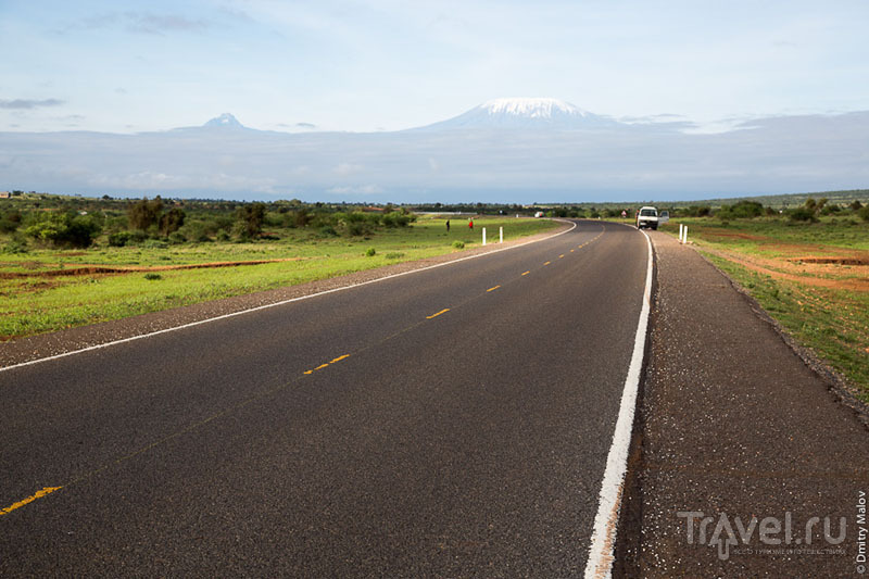 Дорога в Кении / Фото из Кении