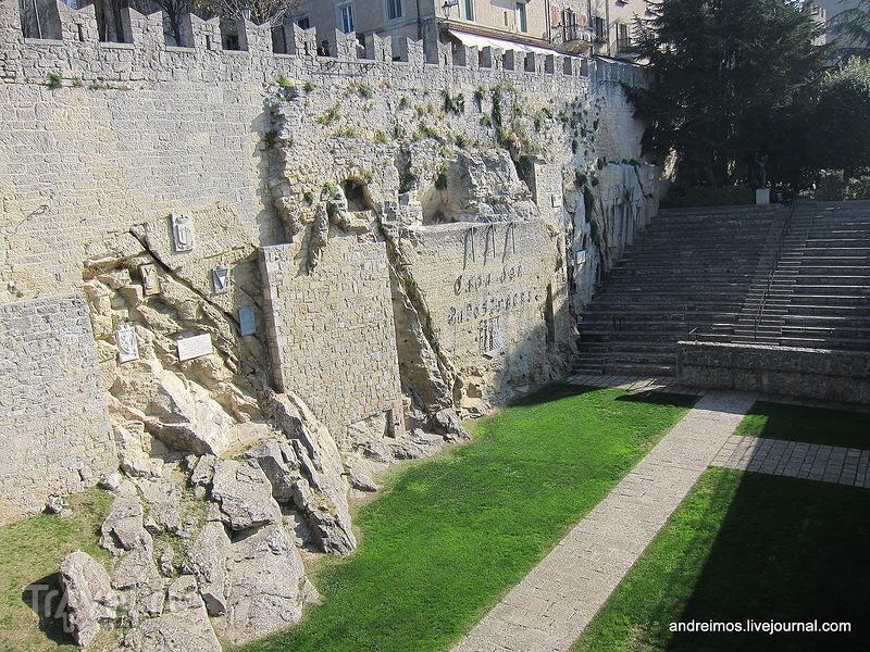 Каменоломня Арбалетчиков (Cava dei Balestrieri), Сан-Марино / Фото из Сан-Марино