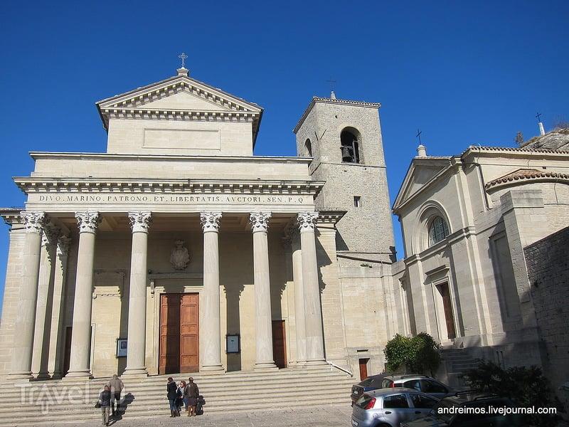 Базилика Св.Марина (Basilica di San Marino), Сан-Марино / Фото из Сан-Марино