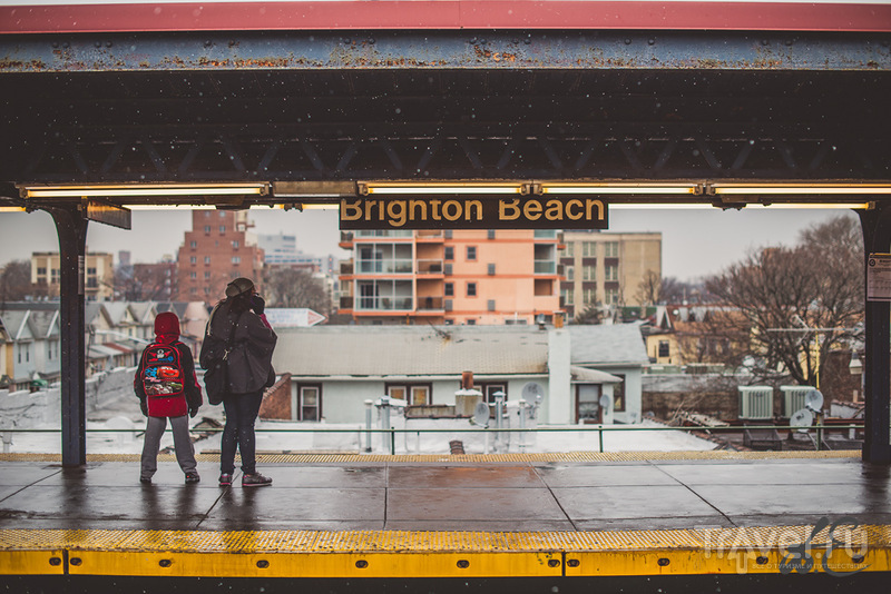 New-York trip. Brighton Beach / США