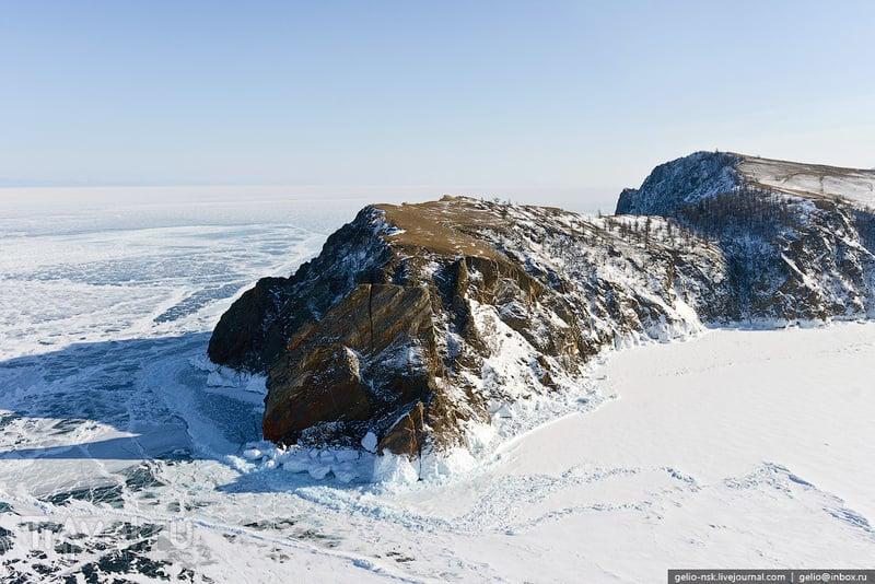 Мыс Хобой на озере Байкал, Россия / Фото из России