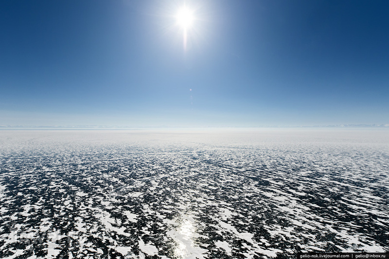 Зимний Байкал / Фото из России