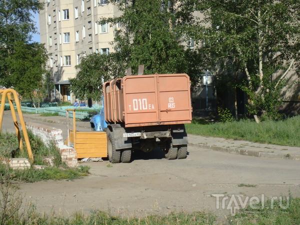 Северобайкальск как он есть / Россия