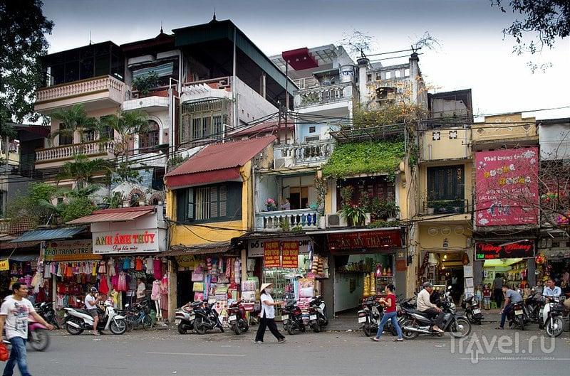 В городе Ханой, Вьетнам / Фото из Вьетнама