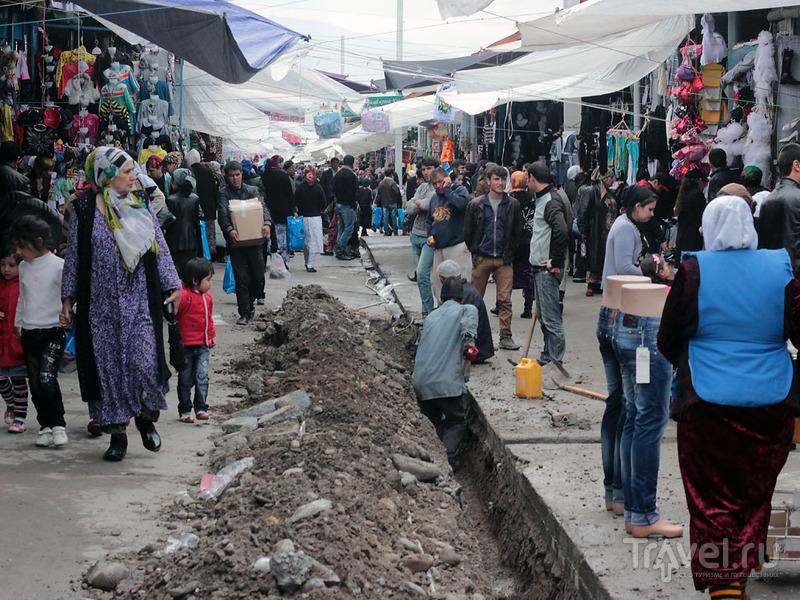 """""""Оптовый"""" рынок в Душанбе / Фото из Таджикистана"""