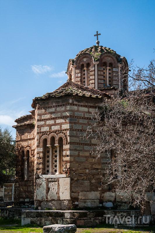 Церковь Святых Апостолов в Афинах, Греция / Фото из Греции