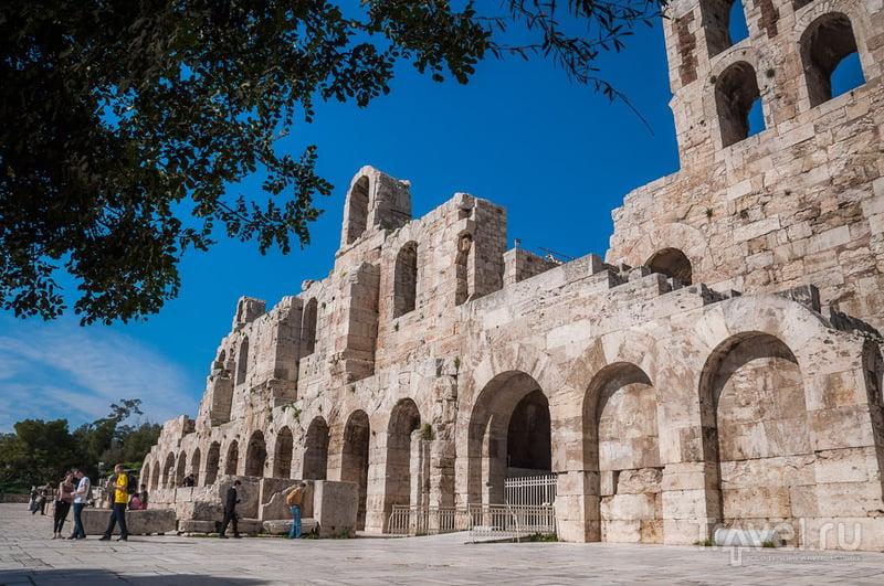 Одеон Герода Аттического в Афинах, Греция / Фото из Греции