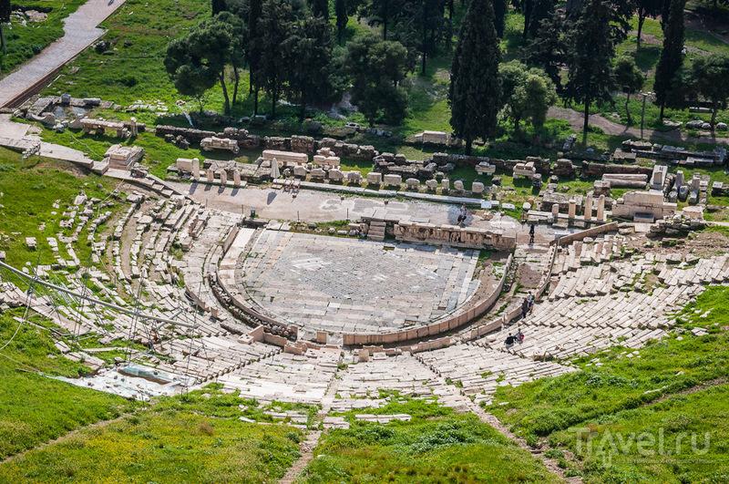 Театр Диониса в Афинах, Греция / Фото из Греции