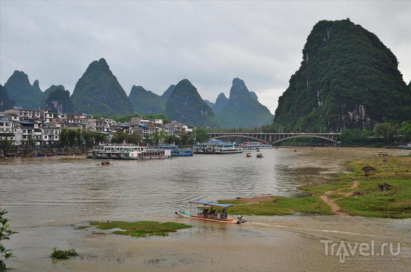 Река Ли в городе Яншо, Китай / Фото из Китая