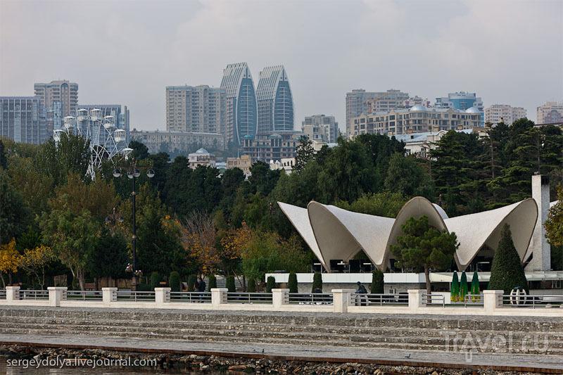 Субтропики Азербайджана и современный Баку / Фото из Азербайджана