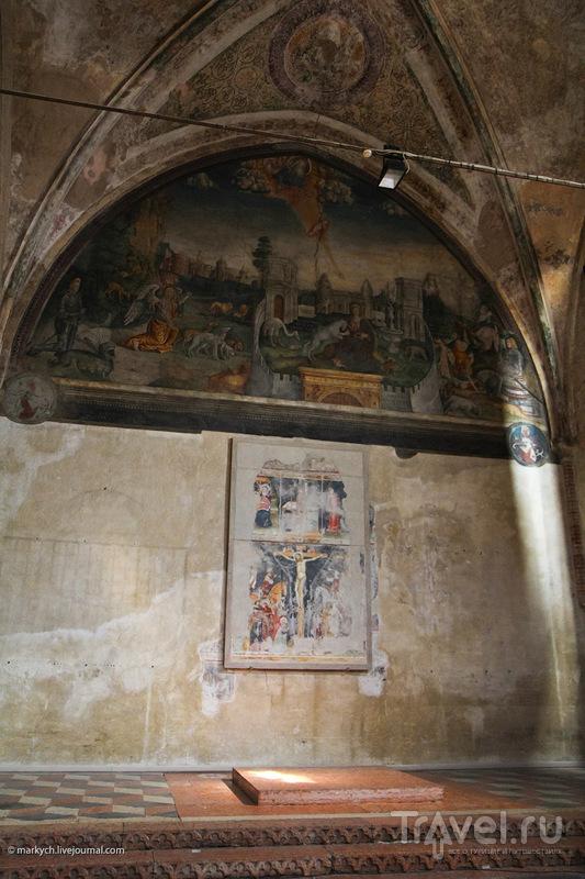 Фрески в церкви San Giorgetto в Вероне, Италия / Фото из Италии