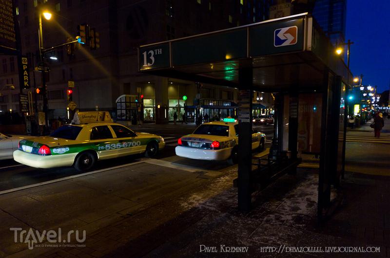 Вечерняя и ночная Филадельфия / Фото из США