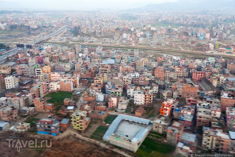 В Непал к Эвересту. Перелет / Фото из Непала