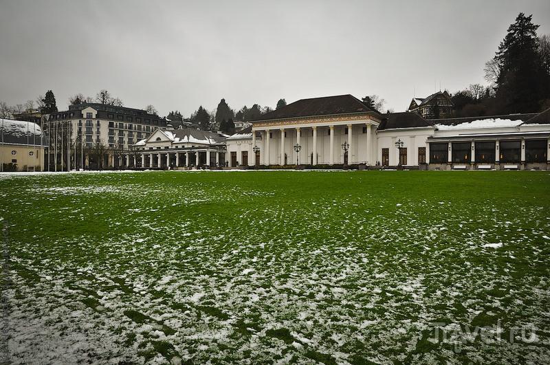 Пансионат Kurhaus на Гетеплатц в Баден-Бадене, Германия / Фото из Германии