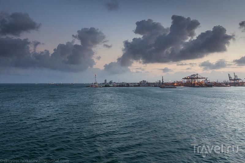 Атлантический вход в Панамский канал / Фото из Панамы