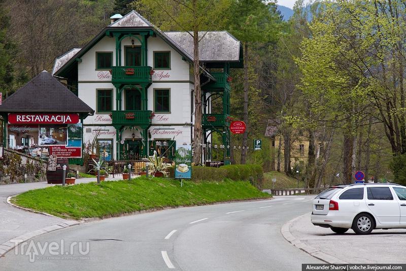 В городе Блед, Словения / Фото из Словении
