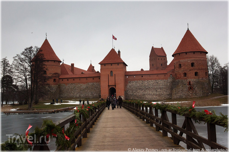 Замок в Тракае, Литва / Фото из Литвы