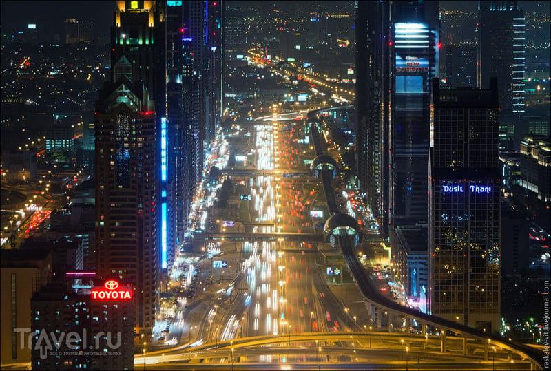 Шоссе шейха Зайда, Дубай / Фото из ОАЭ