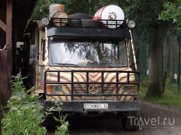 Воспоминания о летнем путешествии на машине: остановка Парк Серенгети / Германия