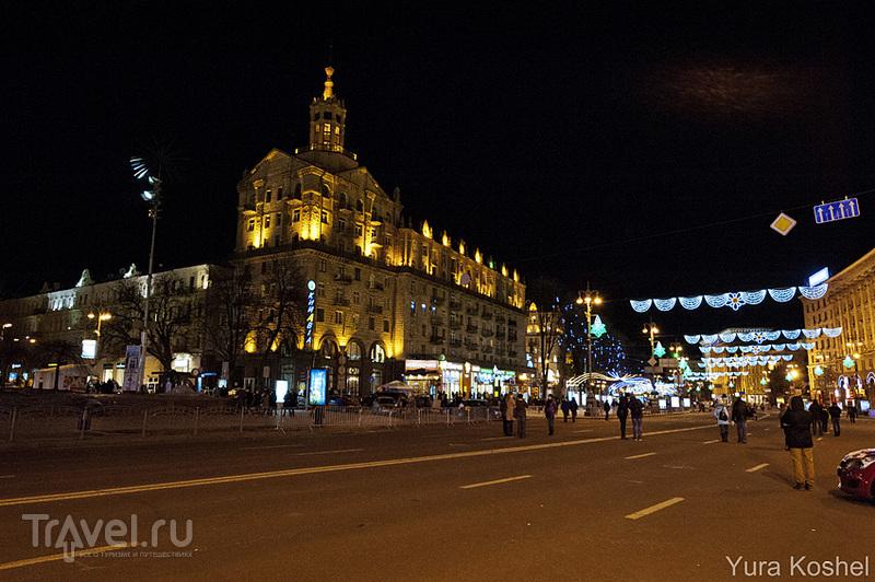 Улица Крещатик  в Киеве, Украина / Фото с Украины