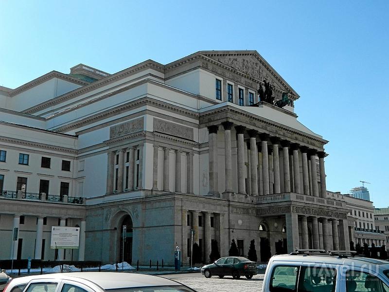 Варшавская опера / Фото из Польши