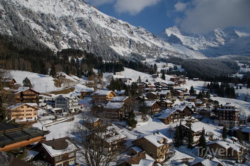 Вид из окна отеля Regina / Фото из Швейцарии