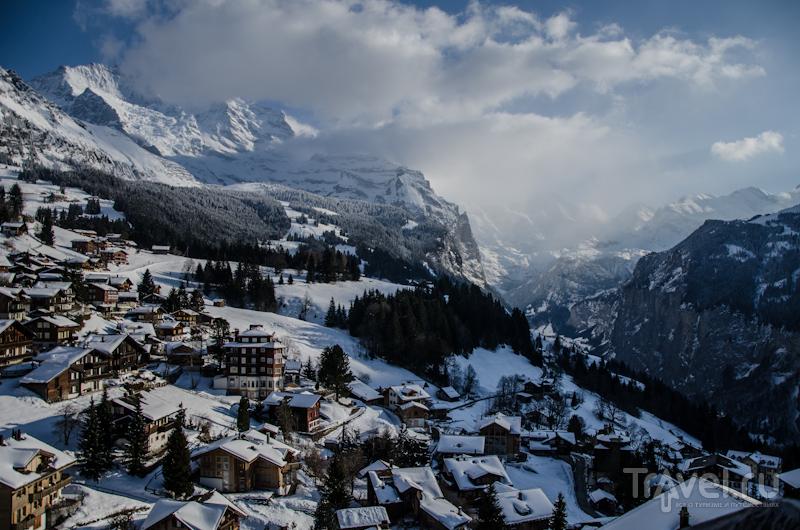 Поселок Венген / Фото из Швейцарии