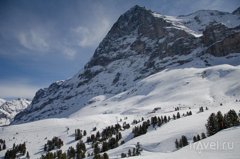 Вершина Айгер / Фото из Швейцарии