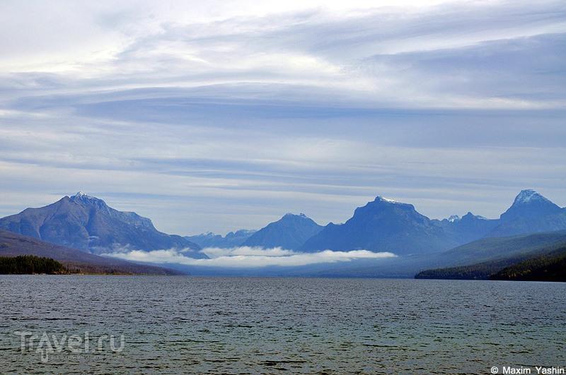 В Glacier National Park, США / Фото из США