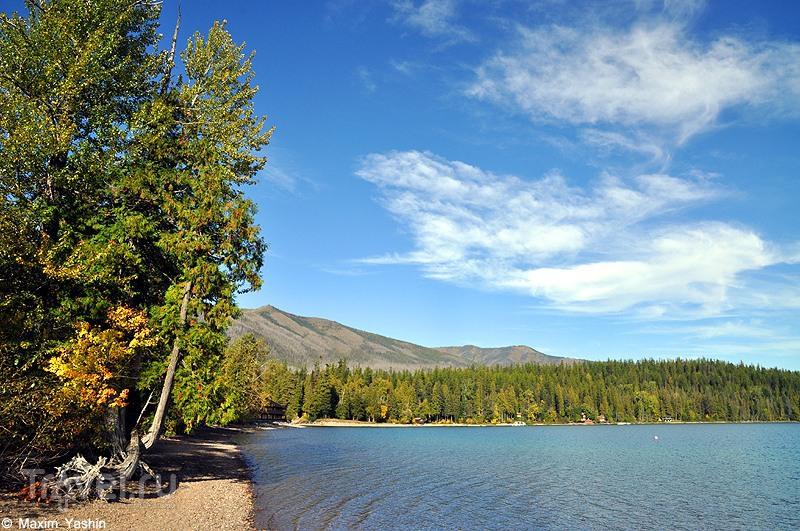 Lake McDonald, США / Фото из США