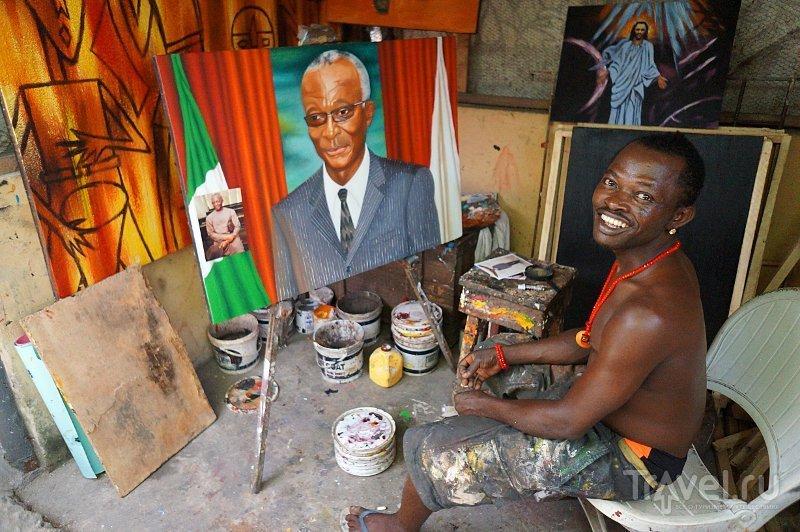 На базаре Лекки в Лагосе, Нигерия / Фото из Нигерии