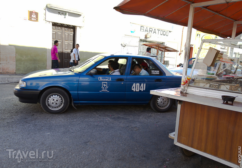 Автомобили на дорогах Юкатана / Мексика