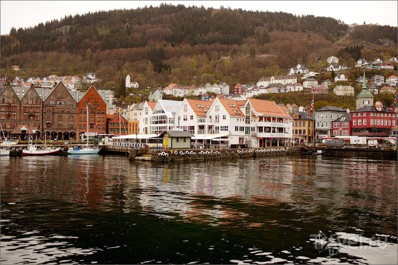 Древняя столица Норвегии / Фото из Норвегии