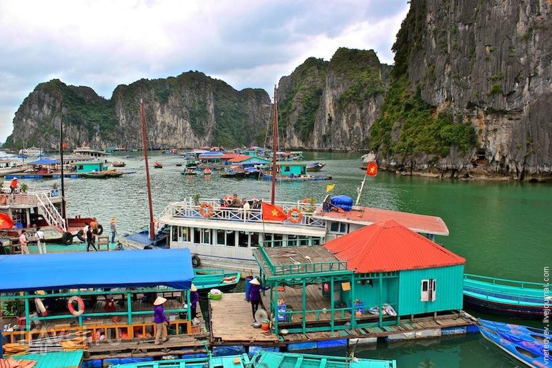 В бухте Халонг, Вьетнам / Фото из Вьетнама
