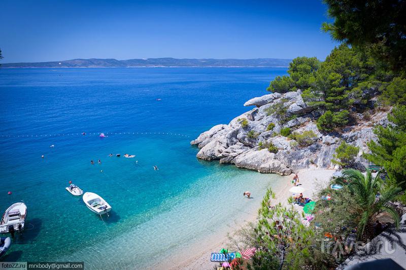 Июль-август 2012. Брела. Пляж Подрачи / Фото из Хорватии