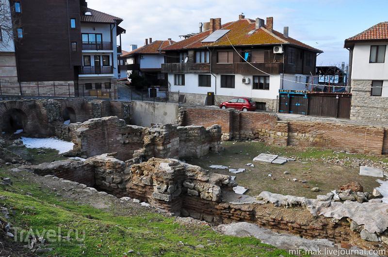 Ранневизантийские термы в Несебыре, Болгария / Фото из Болгарии
