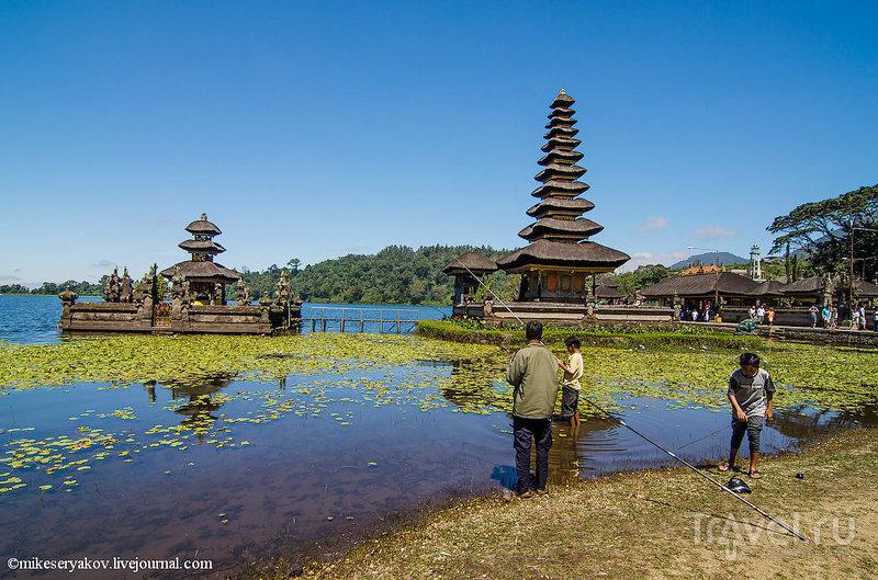 Зарисовки о Бали. Озеро Братан и балийские водопады / Фото из Индонезии