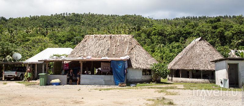 В поселке Taoa, остров Футуна / Фото с островов Уоллис и Футуна