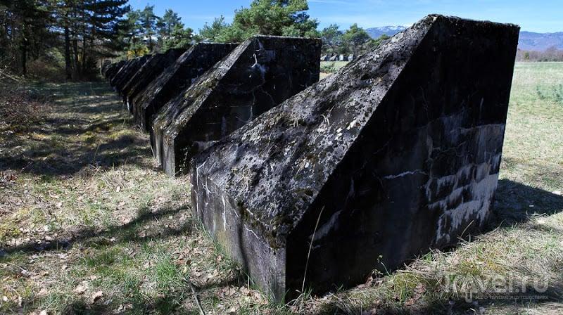 Линия тоблеронов: 25 тысяч тонн истории на берегу Женевского озера / Швейцария