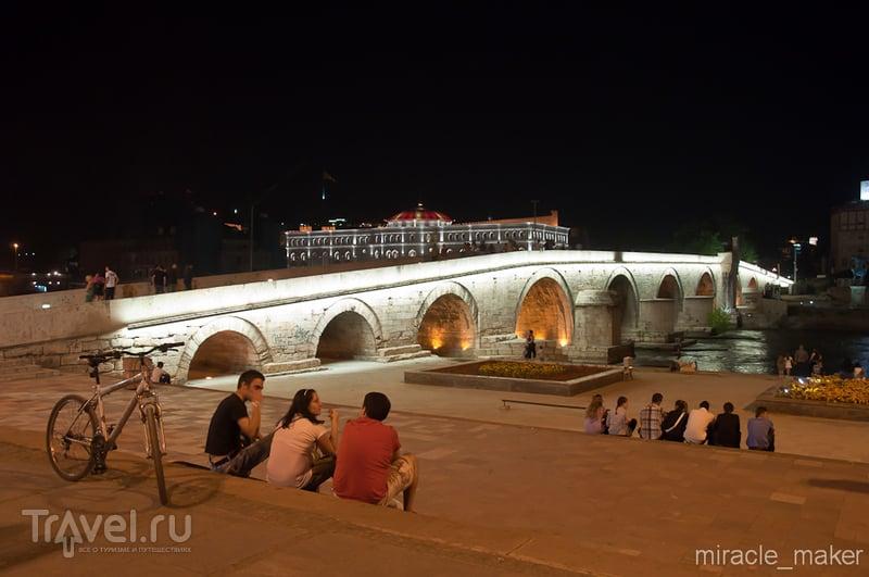 В городе Скопье, Македония / Фото из Македонии