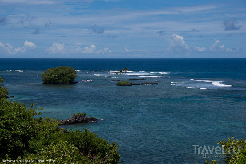 У деревни Вавау, Западное Самоа / Фото с Западного Самоа