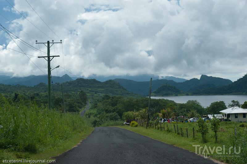 Шоссе Ричардсона, Западное Самоа / Фото с Западного Самоа