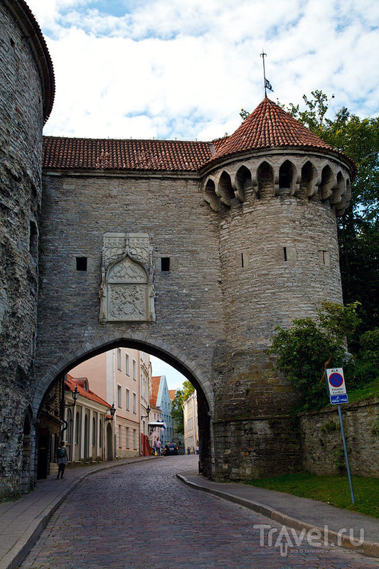 Большие Морские ворота в Таллине, Эстония / Фото из Эстонии