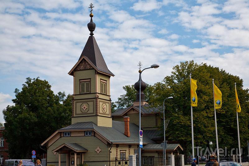Церковь святых и праведных Симеона Богоприимца и Анны Пророчицы в Таллине, Эстония / Фото из Эстонии