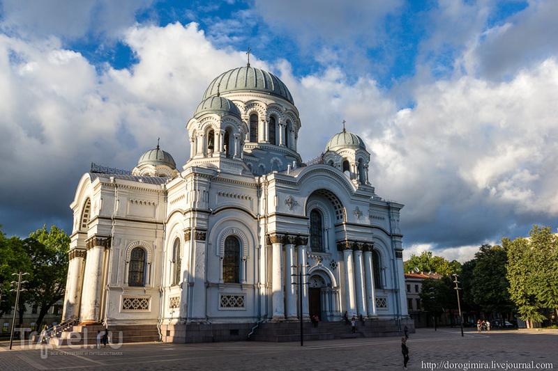 На аллее Свободы в Каунасе, Литва / Фото из Литвы