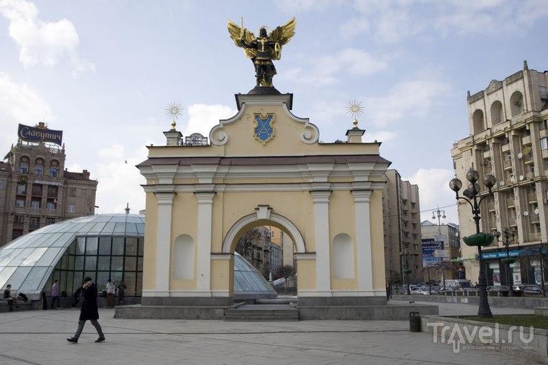 Лядские ворота в Киеве, Украина  / Фото с Украины