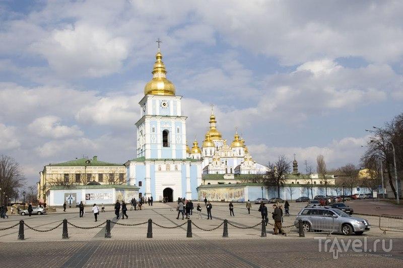 Михайловский Златоверхий монастырь в Киеве, Украина  / Фото с Украины